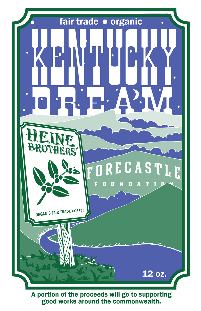 Kentucky Dream coffee blend will be available area Heine Bros. locations and Whole Foods Markets
