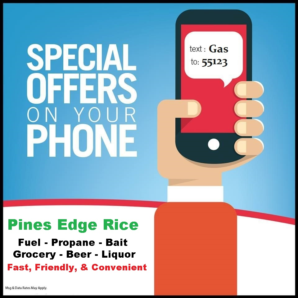 TEXT: GAS TO: 55123 - INSTANT COUPON TO YOUR PHONE!
