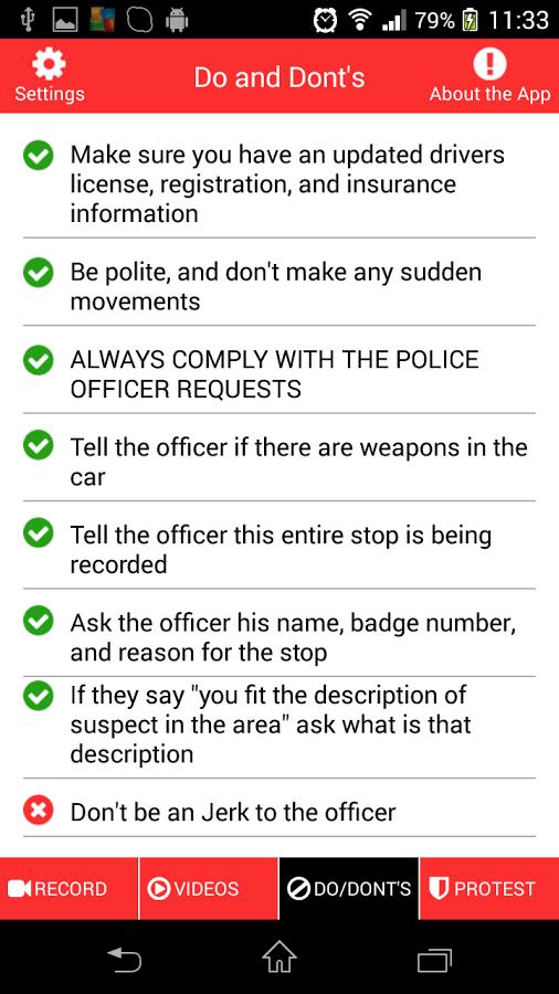 Hands Up 4 Justice App