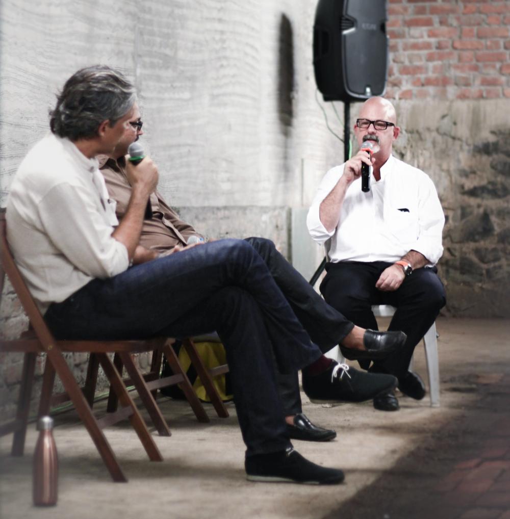 Plan A'sAaron Schwarz, FAIA, giving a lecture.