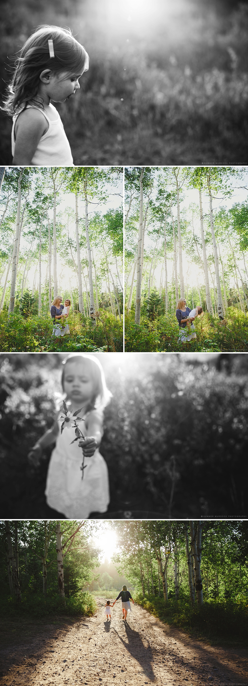 It's always super flattering when people spend a bit of time with me while they are on vacation. These two were here from Seattle and we got to spend a bit of time up in the gorgeous Utah mountains. It was really fun to do a mommy daughter shoot!