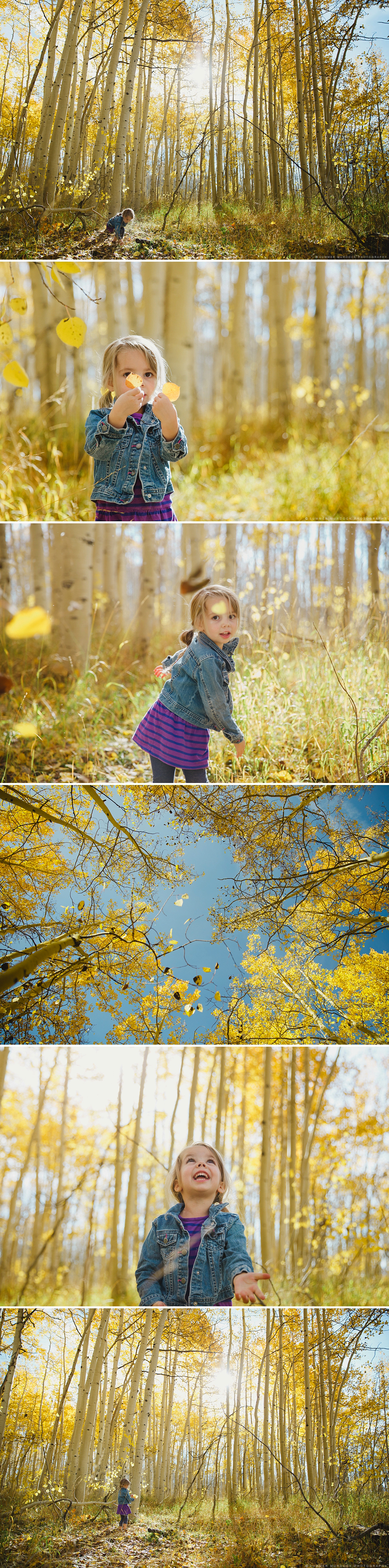 Summer Murdock Photography, Salt Lake City Utah Family Photographer, 5 minute project, aspen grove, fall