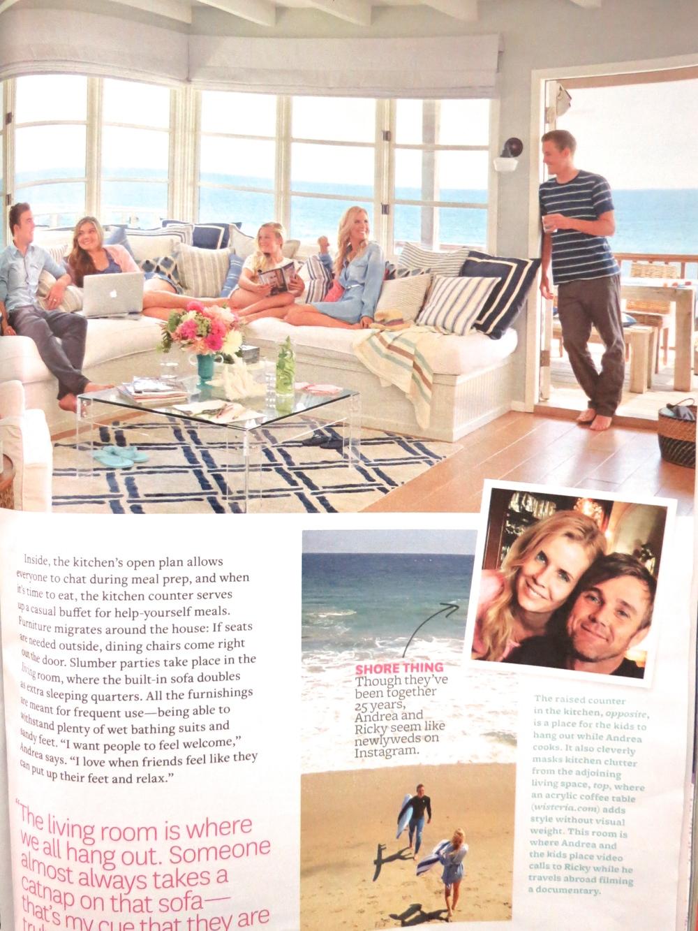 Ricky Schroder home andrea schroder home interior design