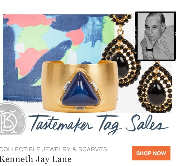 one kings lane tastemaker sale abstract art jewelry