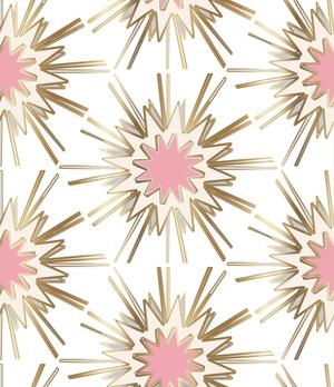 Gold Burst Pink Jennifer Latimer