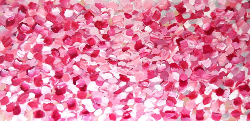 Falling Petals Commission