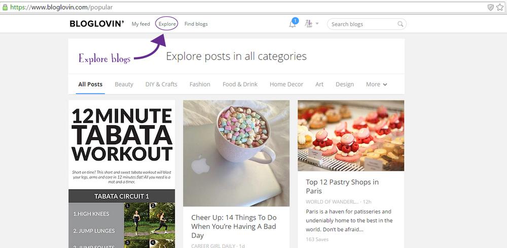 bloglovinexplore