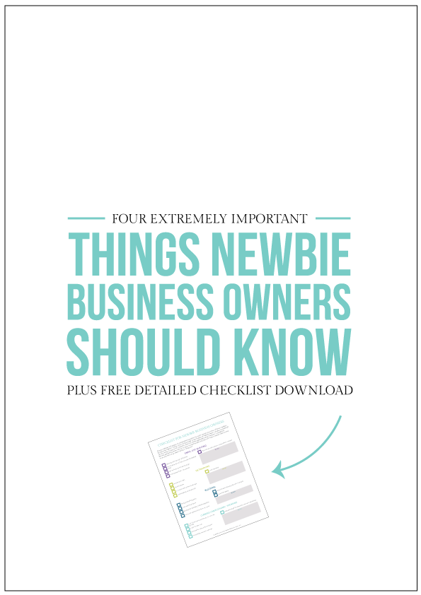 Four extremely important things new business owners should know