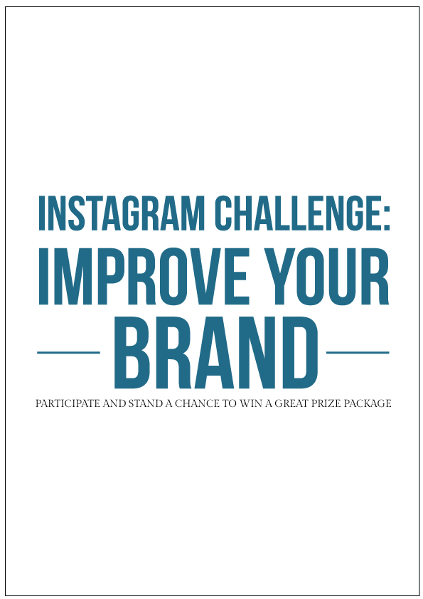 Instagram branding challenge for business owners and bloggers