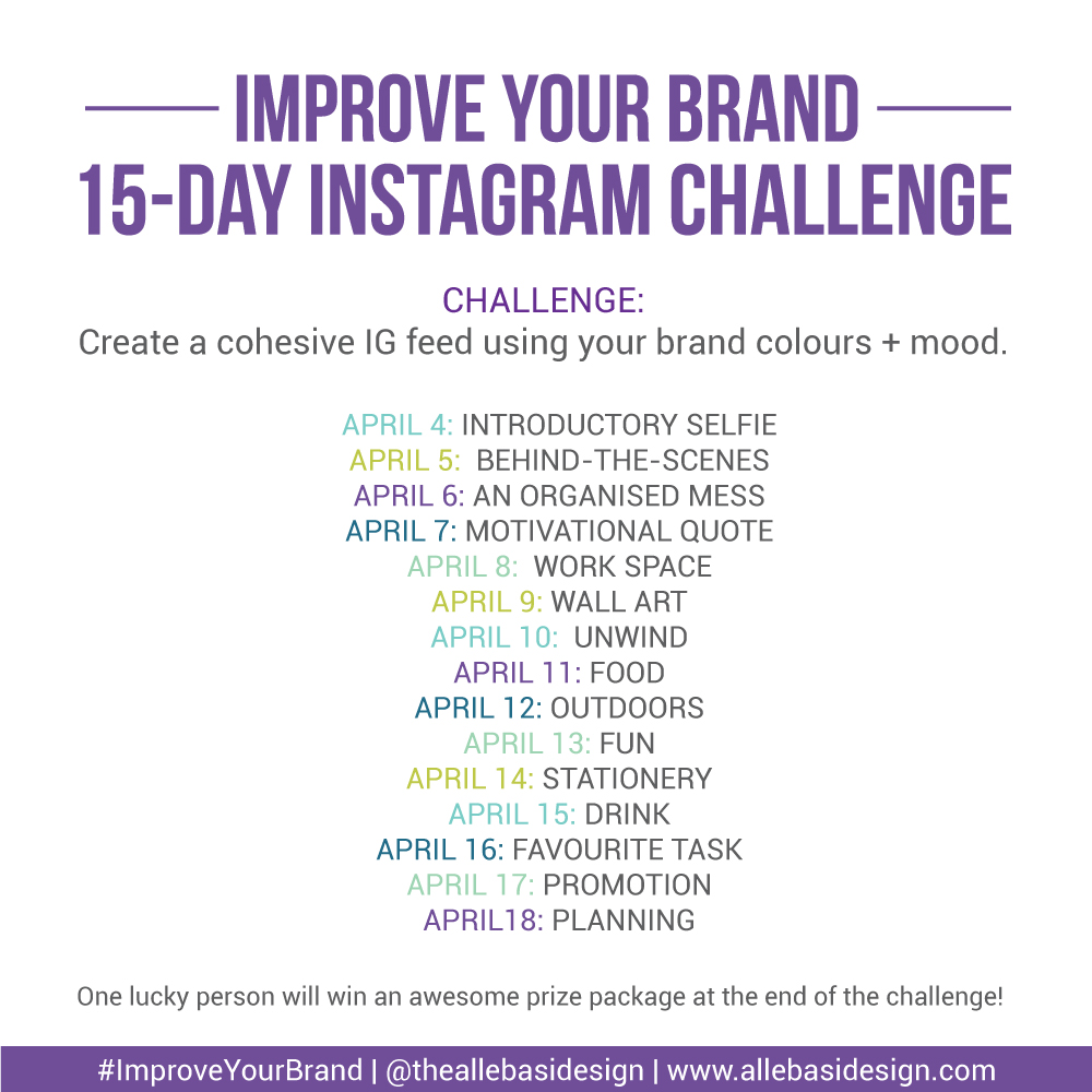 Instagram Challenge for business owners and bloggers