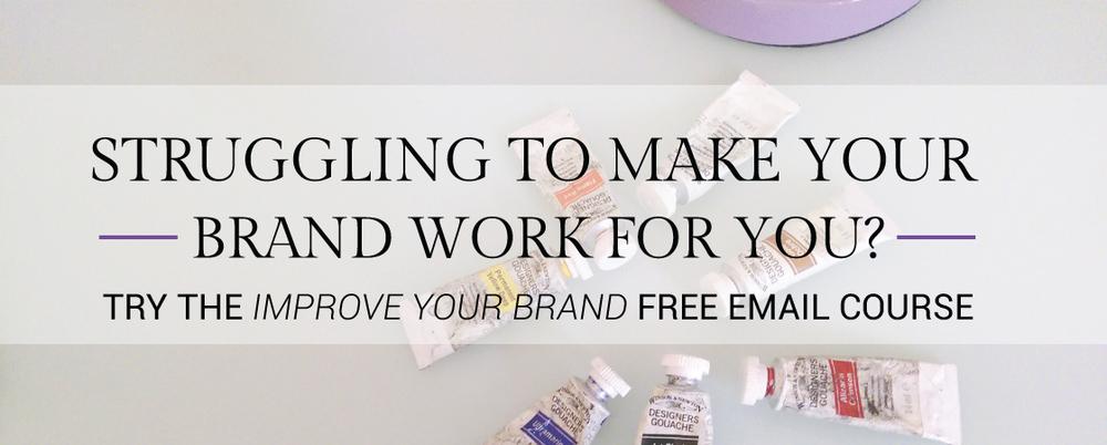 Free branding e-course