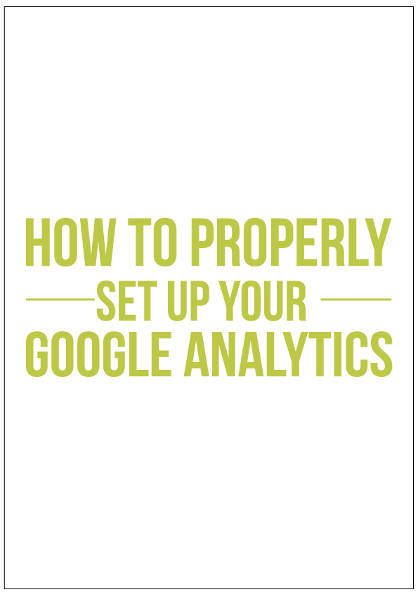 How to properly set up Google Analytics for your blog or business website. If you're a newbie to Google Analytics, chances are you did not set up your profiles properly and that can be really damaging to your business. Click the link to find out why and how to set up your Google Analytics properly.