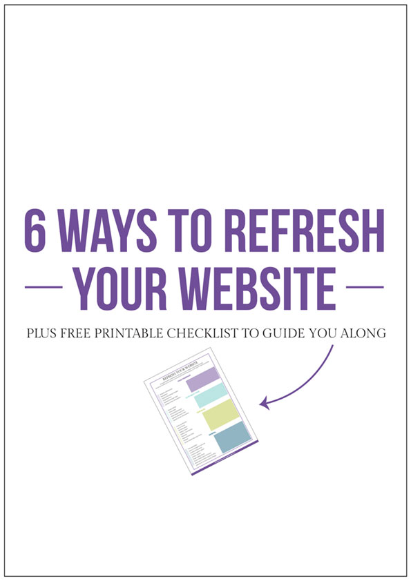 6 Ways to refresh your website to optimize conversions