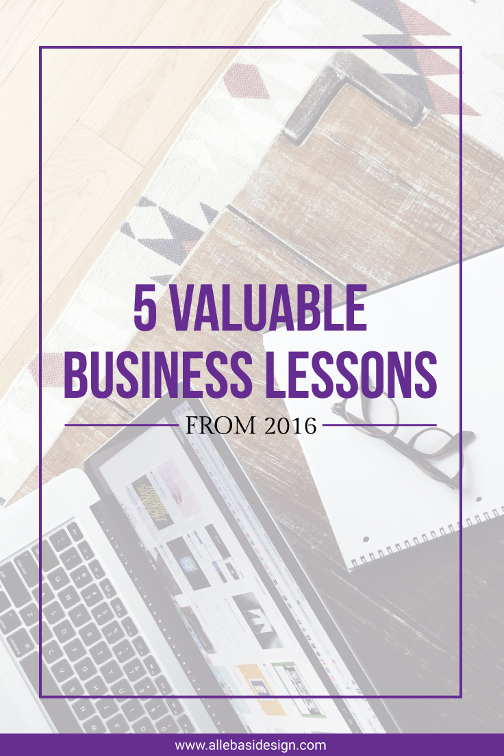 5 Valuable Business Lessons From 2016