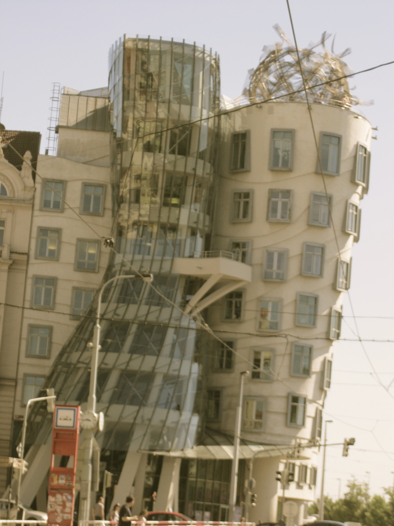 Fred and Ginger Dancing Buildings Prague