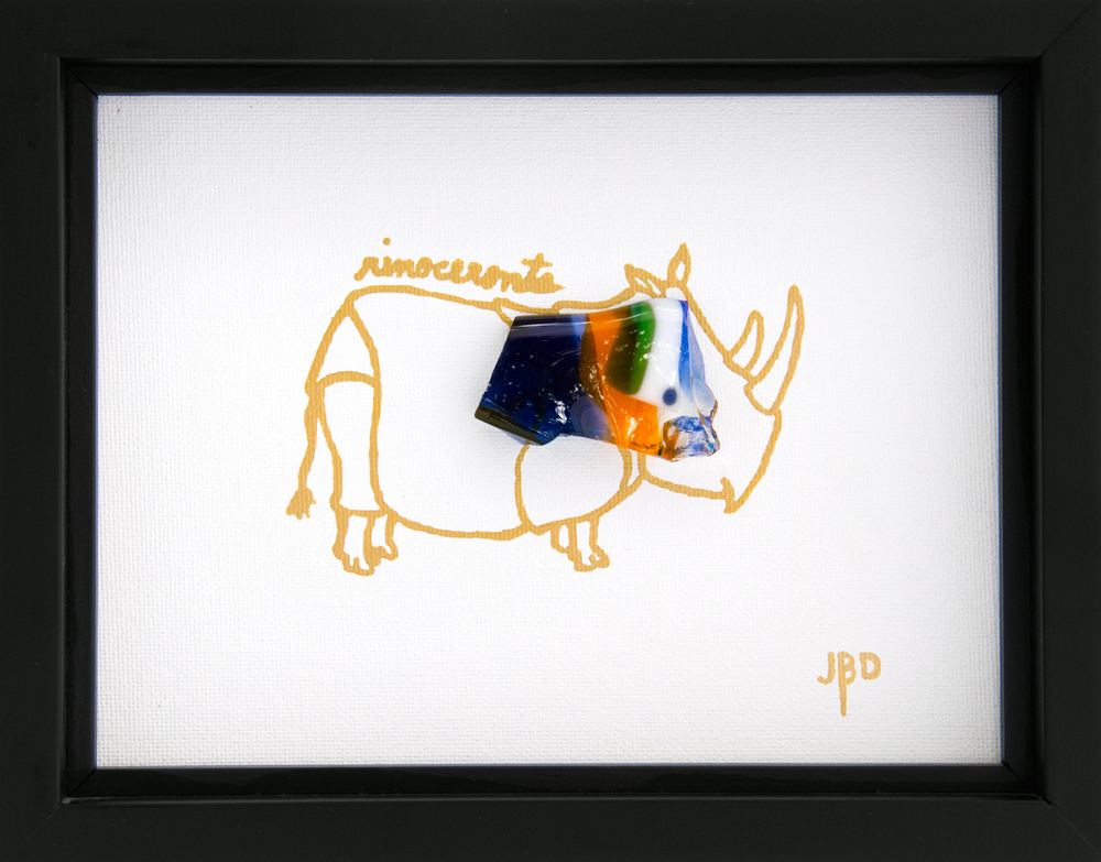 Rhino   Rinoceronte -  From the 'Little Animals' Collection
