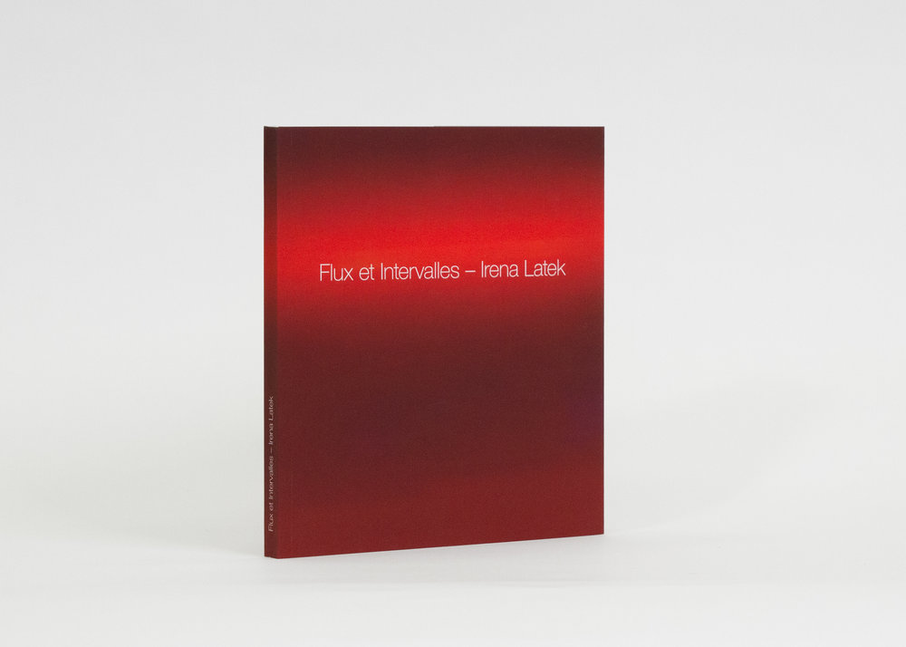 Flux et Intervalles, by Irena Latek Published by Anteism 152 pg (Colour, Digital) 7.5 in x 8.5 in - 19 cm x 22 cm Softcover - Perfect Bound Tactile laminate