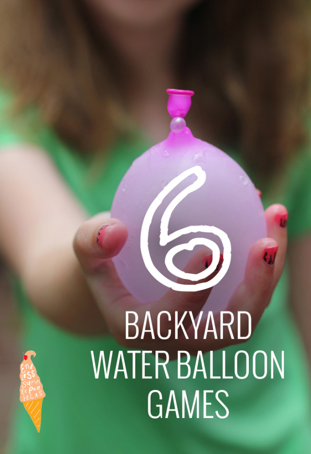 6 fun water balloon games endless summer projects pars for Fun things to do with water balloons