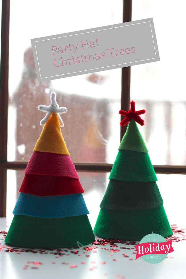 Fresh Holiday Traditions Party Hat Christmas Trees Pars Caeli