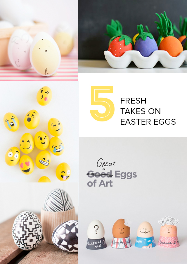 If you're looking for eggs that are out of the ordinary, I've got five great ideas from talented folks around the web.