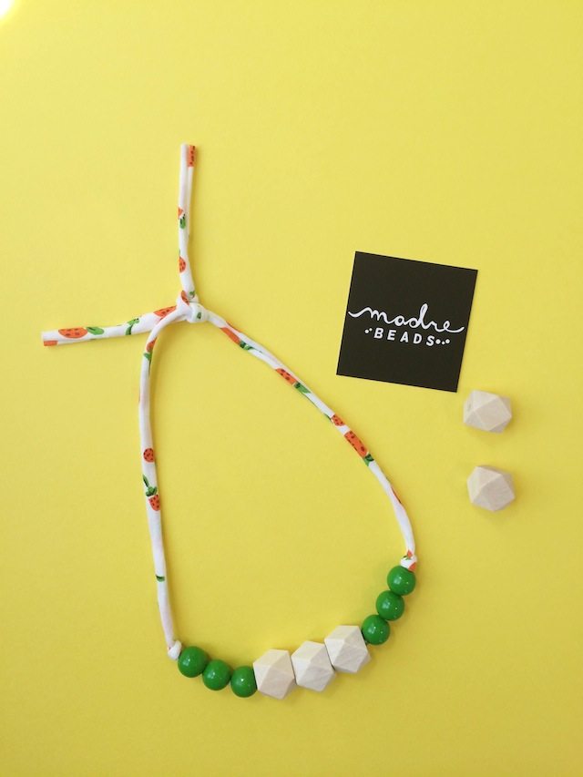 Find fabulous wooden beads like these at Lacy's new store, Madre Beads.