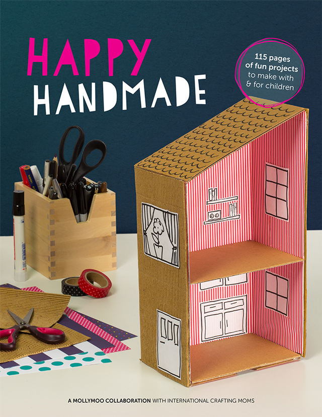 Happy Handmade is a fantastic resource for any rainy/summer/snow day crafting with your children with 115 pages of fun projects made from materials you already have!