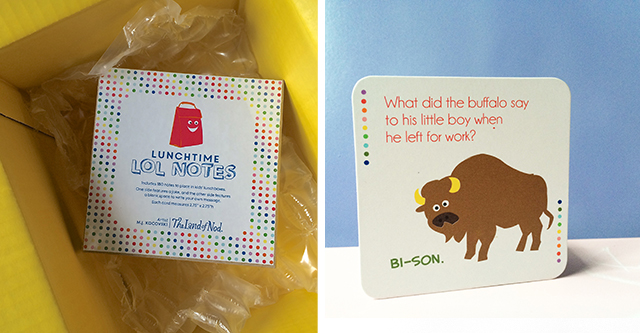 Don't quit your daydream! How one mom took her lunchbox notes from paper bags to product launch.