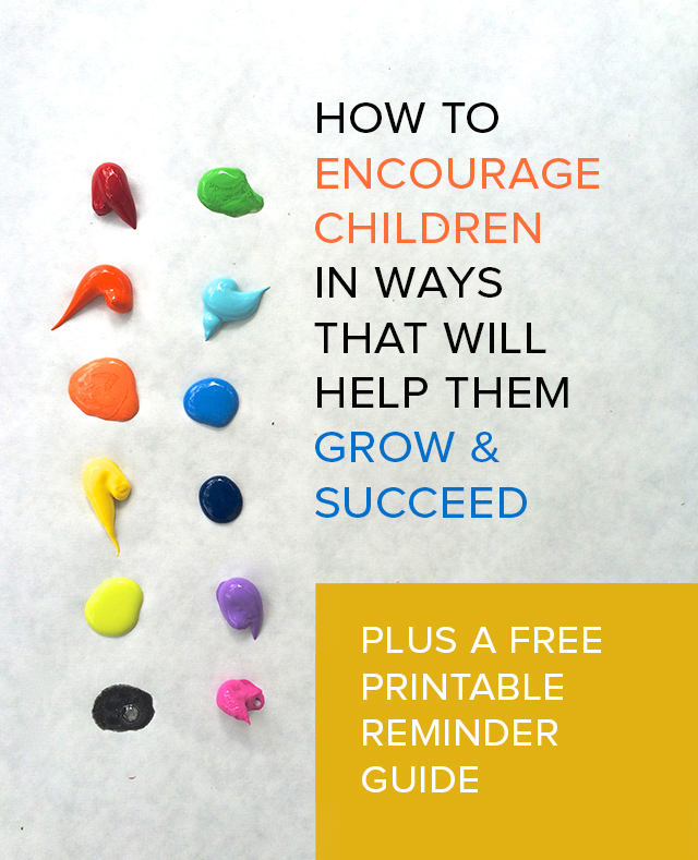 Get the free printable guideline on how to talk with your children in ways that will help them grow and embrace challenge.