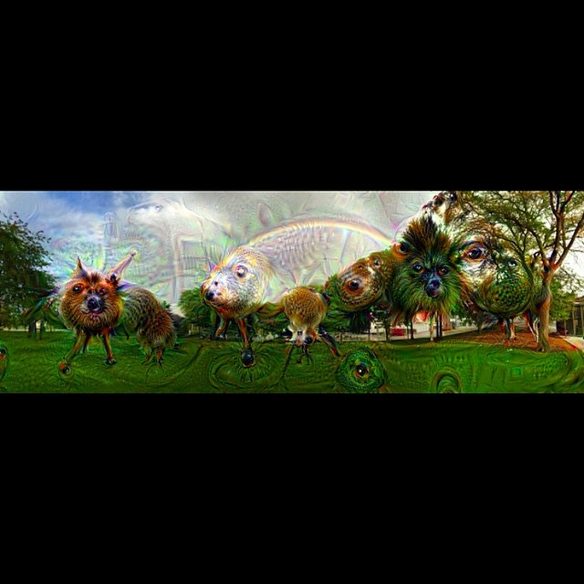 #deepdream #ai #JeffersonCity #Missouri #capitol #pano #panoramic #trippy #hometown #downtownjcmo #inceptionism #doublerainbow #rainbow #empireeverywhere #weirdshit #iphone6 #killyourtv #gooutside