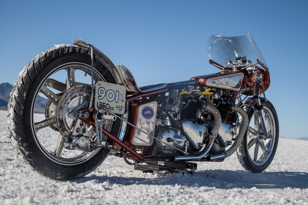 "Lowbrow Customs ""Double Vision"" Twin Triumph"