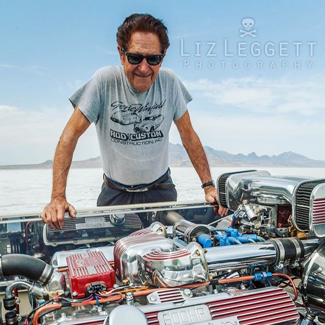"I got to hang out with my friend @winfieldscustomshop  at Bonneville this year. He brought out a new project that he will be modifying to give it the ""Winfield"" touch . #peopleofbonneville . . . . #hotrod #hotrods #classicars #auto #automotive #kustom #kulture #kustomkulture #autounlimited #petrolicious #coolcar #carporn #autos_of_our_world #trb_autozone #tru_rebel #portrait 🌟#lizleggettphotography 🌟www.lizleggettphotography.com 🌟#LLPhotoz"