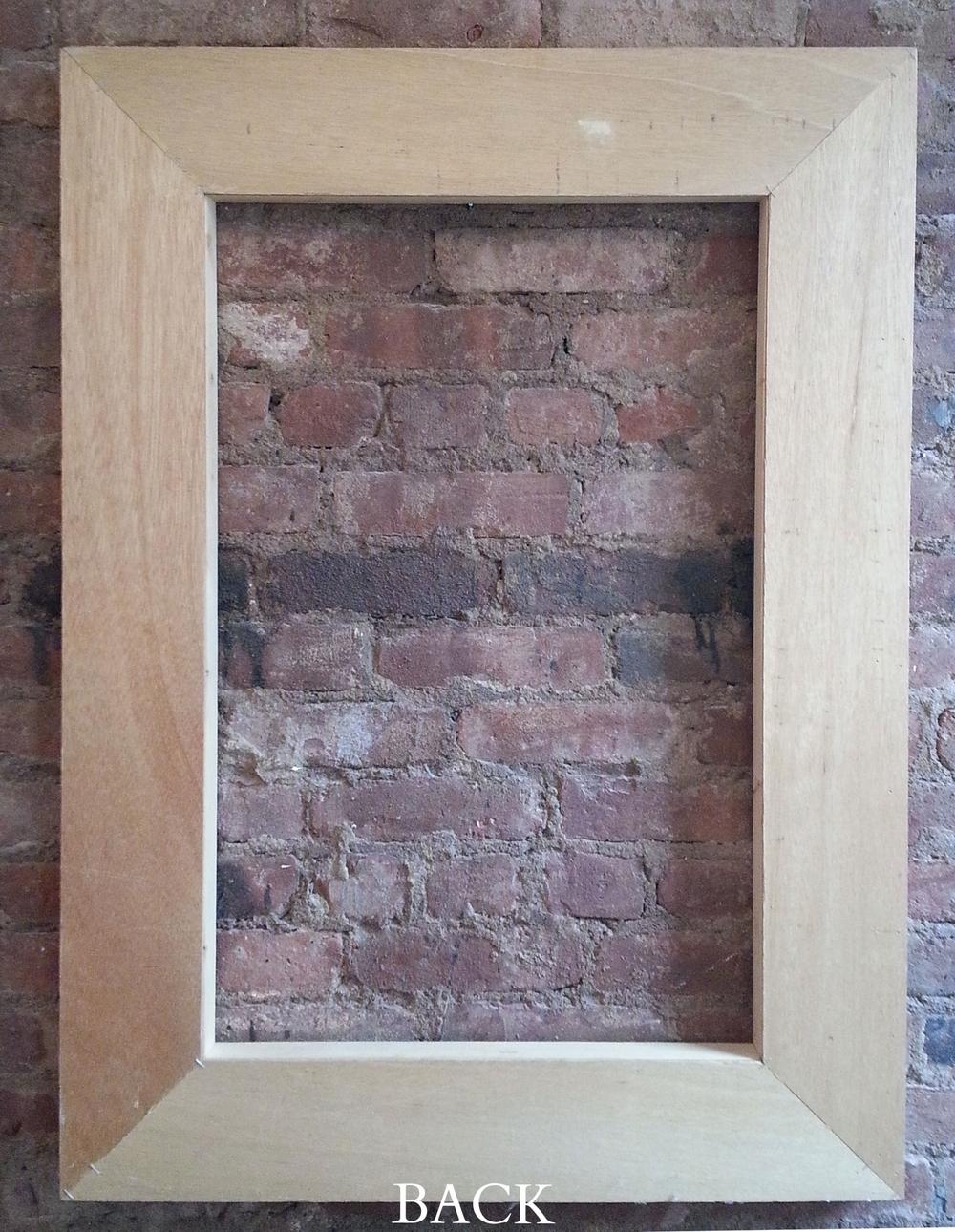 Back frame