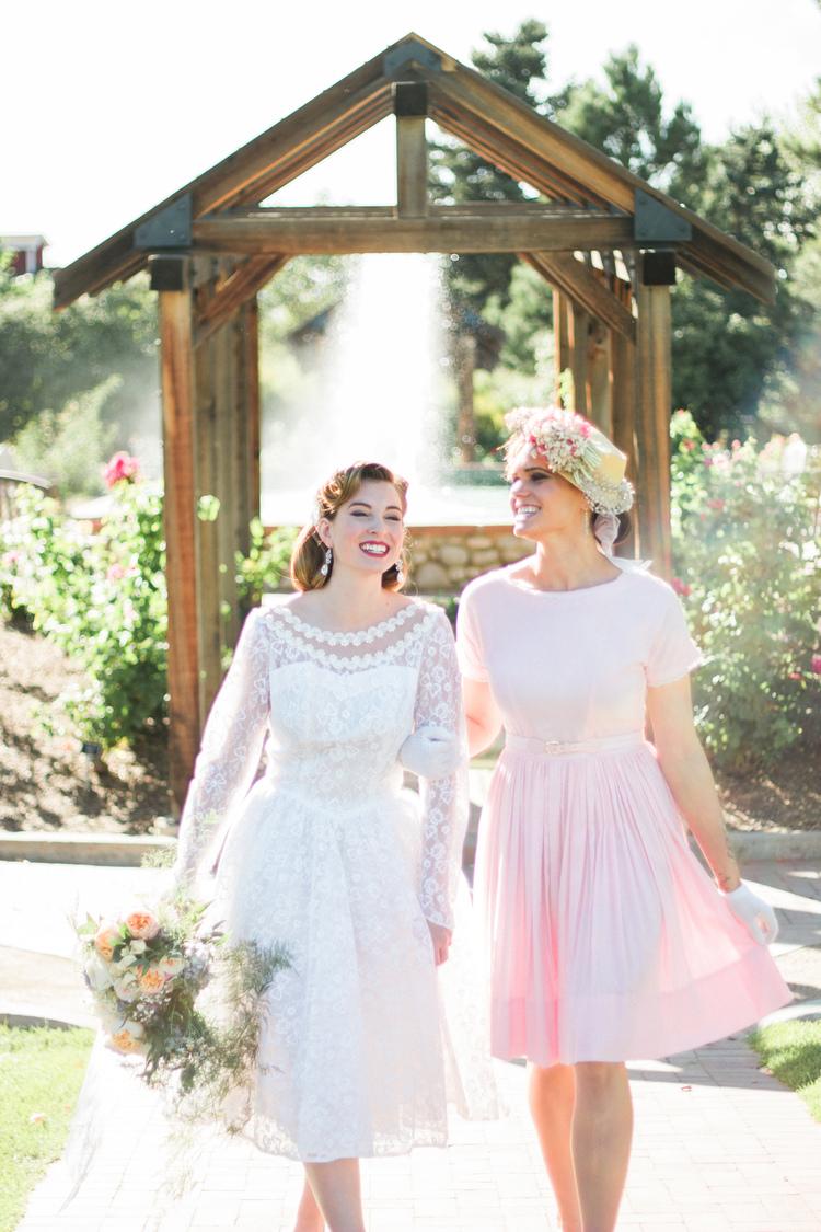vintage tea party bridal shower at hudson gardens