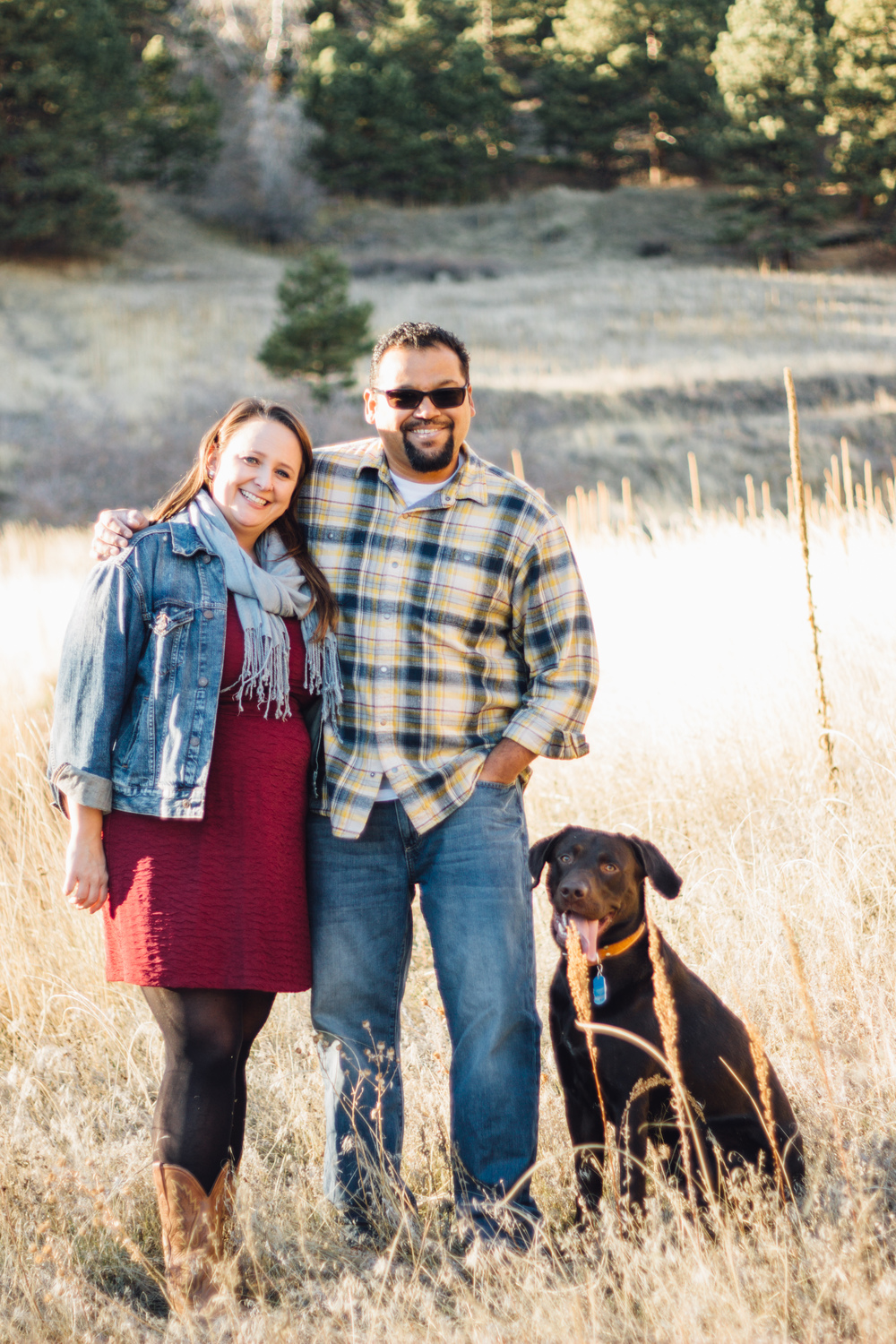Boulder Colorado engagement photo shoot