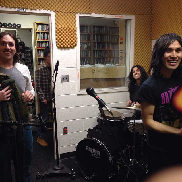 Just did a set at 90.7 WVTU Blacksburg, VA, see you all tonight!!!