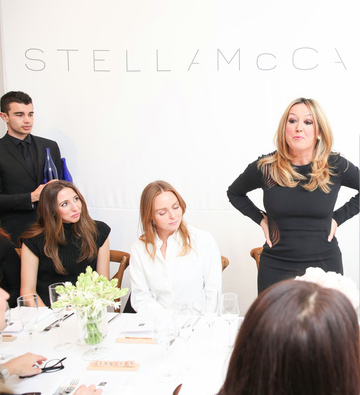 Stella McCartney luncheon at Saks Fifth Avenue