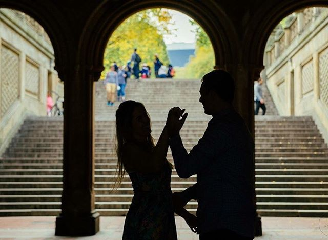 • where there is love, there is joy •  #krisieleoliveira #centralpark #fotografoemny #nycproposal #centralparkproposal #eladissesim #pedidodecasamentoemny #vsconyc #novayork