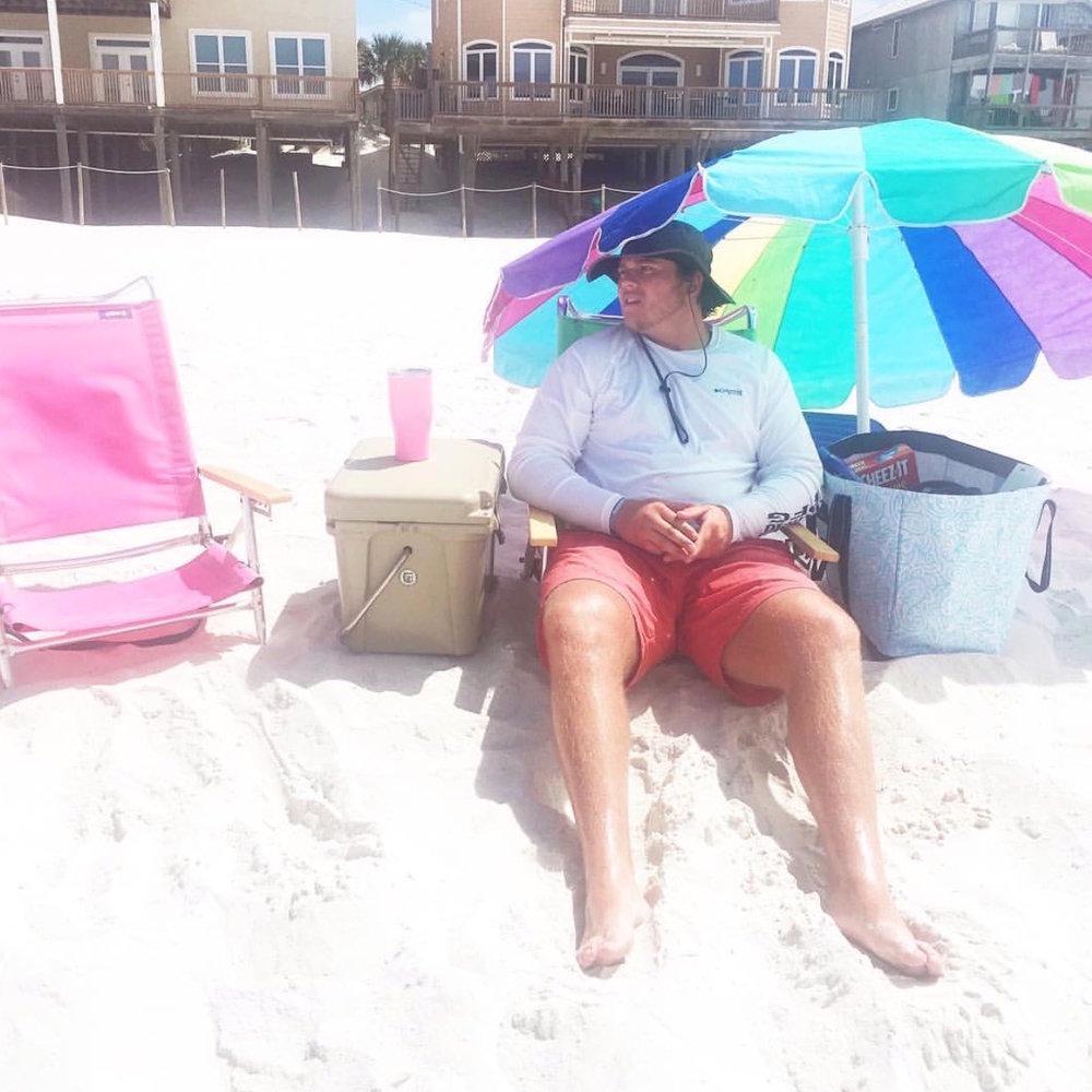 Beach trip.