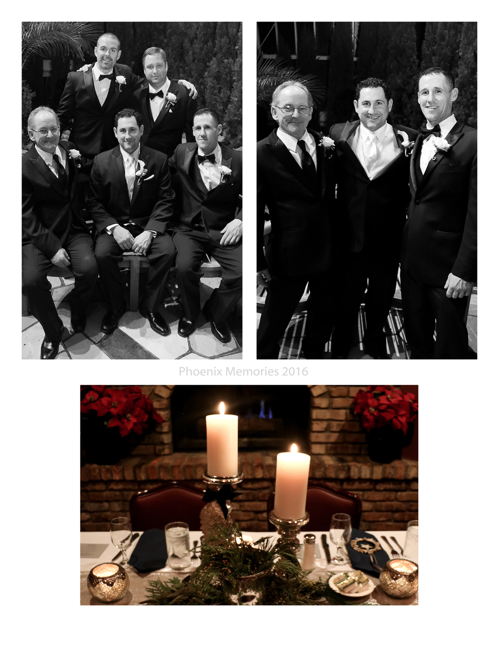 The Groom and his Groomsmen celebrated in style, wearing their  Savvi Formalwear  attire, and shoes.  The Reception was held at  Mancini's Char House , in St. Paul.