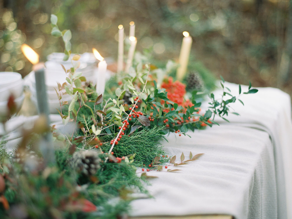 Holiday Gathering by Mitchell Willis Events and Lauren Kinsey Photography
