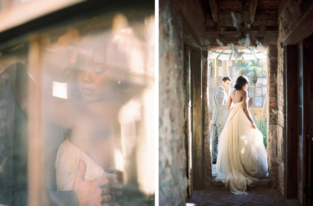 New Orleans Wedding by Mitchell Willis Events and Lauren Kinsey Photography; Dress by Samuelle Couture