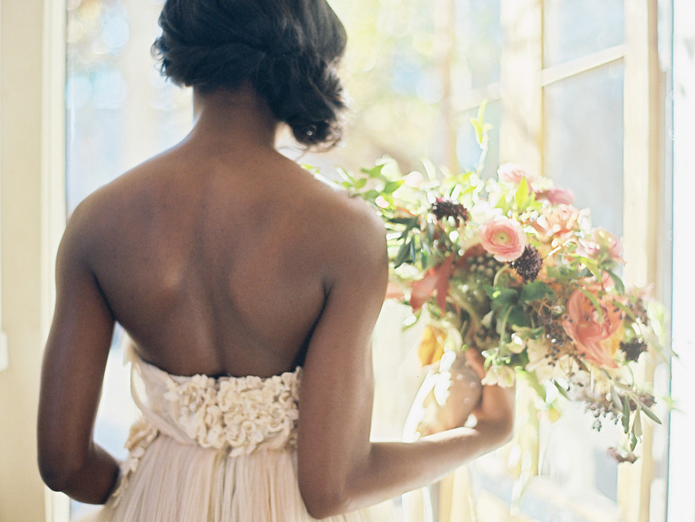 New Orleans Wedding by Mitchell Willis Events and Lauren Kinsey Photography with Flowers by Bees Wedding Designs; Dress by Samuelle Couture