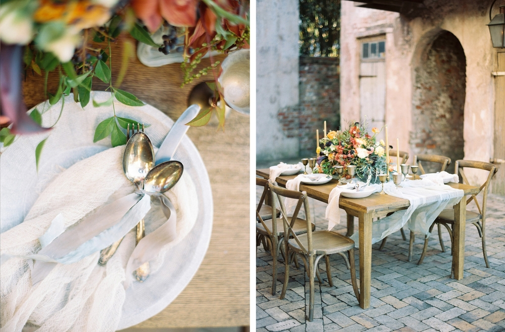 New Orleans Wedding by Mitchell Willis Events and Lauren Kinsey Photography with Flowers by Bees Wedding Designs