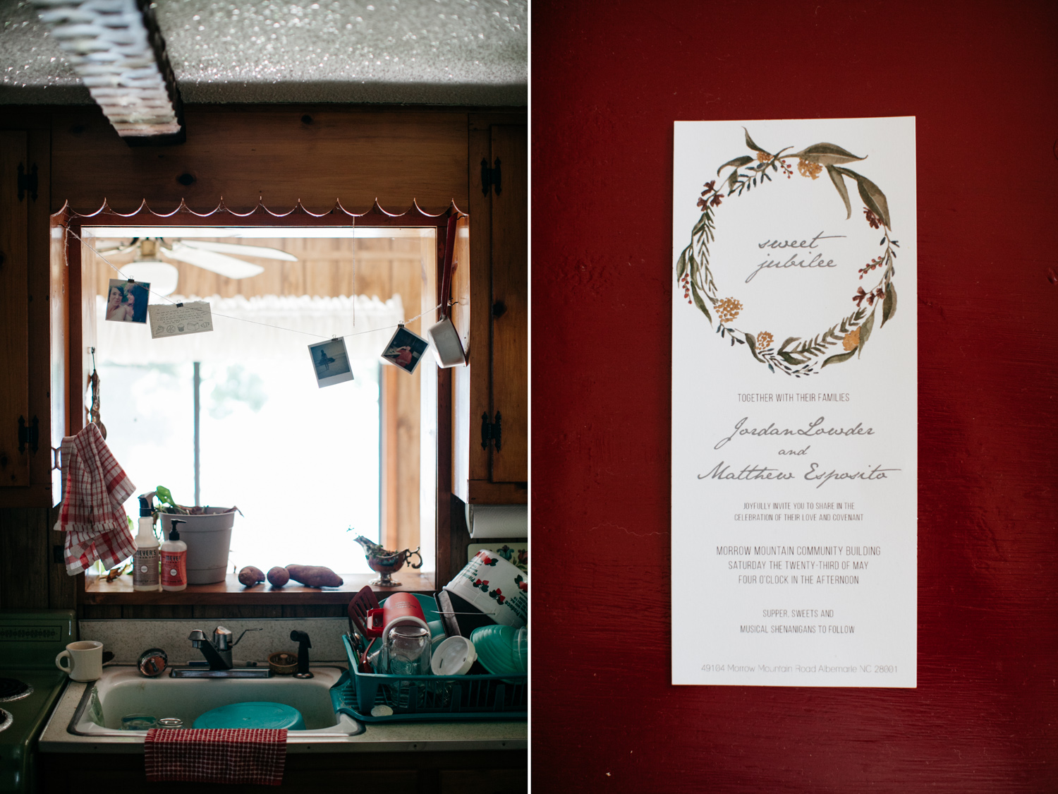 Jordan + Matthew // A Morrow Mountain Wedding — Grain & Compass