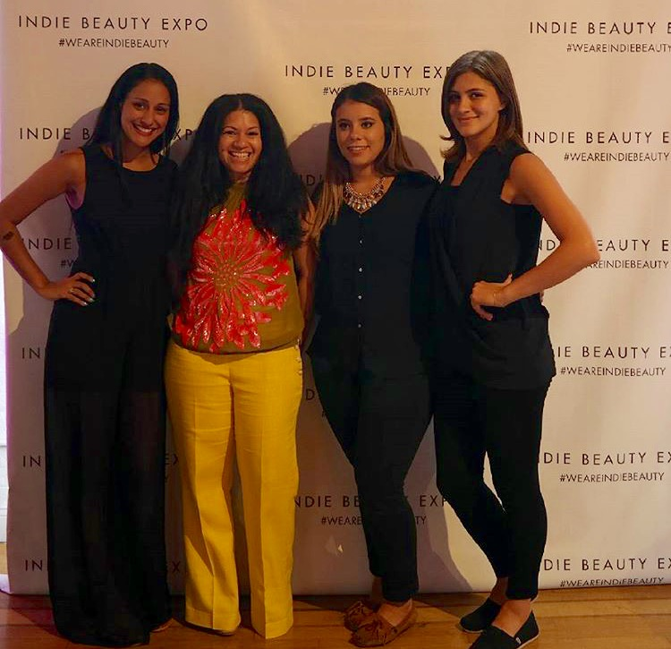 Tah-dah! The team and I (center) in my Collete Dinnigan blouse. #obsessed with everyone in the photo and my new favorite top from June's closet :)