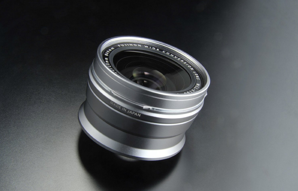 The Fujifilm WCL-X100 Wide Conversion Lens