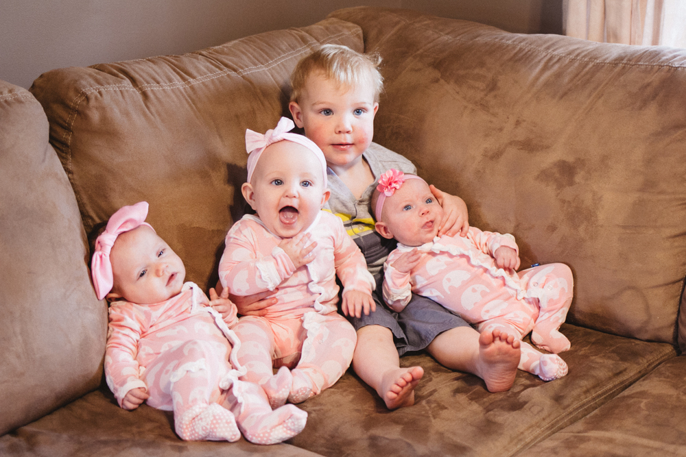 Kindel, Lucy, Aidan, and Adalee