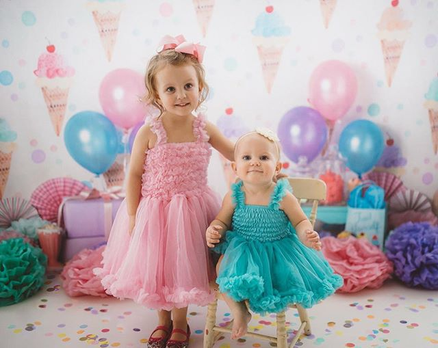 It's birthday week!!! 🎂💖🍦 I can't believe my BABY will be ONE tomorrow and my big girl will be THREE on Thursday!!! 😭😭😭