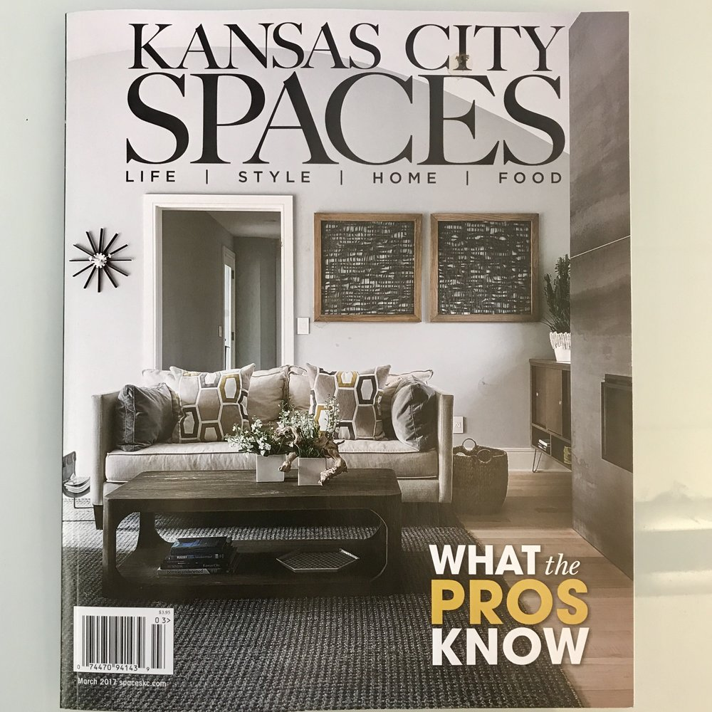 Kansas City Spaces Magazine, Spaces KC, editorial coverage, media relations