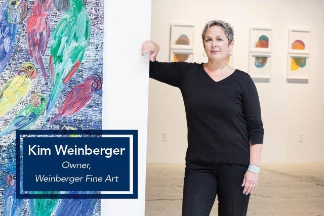 Kim Weinberger: Owner, Weinberger Fine Art
